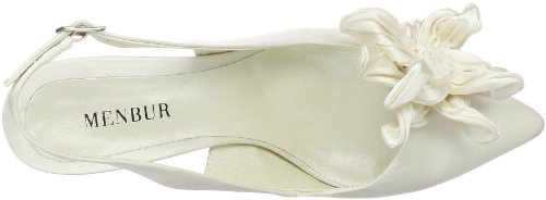 Menbur Wedding Collier 04513, Chaussures femme Blanc (TR-B1-Ivoire-11)