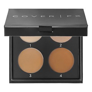 COVER FX Contour Kit Color N Light - For fair to light skin with neutral undertones by CoverFx