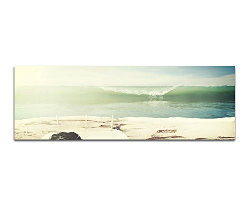 Imágenes cuadro-Impresión 120x 40cm playa
