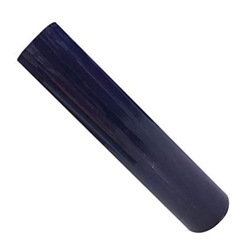 ECYC 1roll 30cmx100cm Wärmeübertragungs-Vinyl für Hitzepressemaschine T-Shirt Eisen auf HTV-Druck, Marineblau (Auf Eisen Drucke)