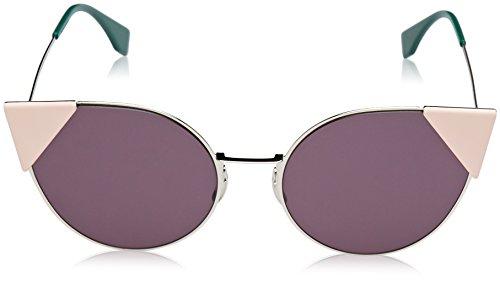 0b059a5923 Fendi Lei Cateye Sunglasses in Palladium Violet FF 0190 S 010 57 ...