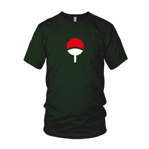 Familie Uchiha - Herren T-Shirt, Größe: M, Farbe: dunkelgrün
