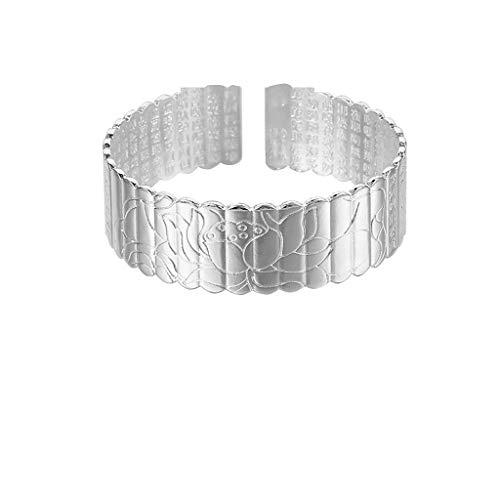 UINGKID Damen-Armband Armreif Mode neun Transfer Perlen Armband Silber überzogene Freundin Mutter ()