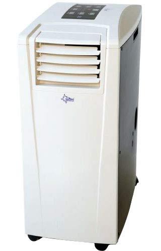Suntec Wellness 12303 KLIMATRONIC mobiles Klimagerät ENERGIC 9.0+ [Für Räume bis 90 m³(~38m²), Kühlen + Heizen + Entfeuchten, 9.000 BTU/h, Energieeffizienzklasse A+/A+++], 2600 W, weiß