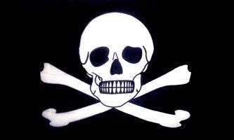 AZ FLAG Bandera Pirata Veneno 150x90cm - Bandera con Calavera 90...