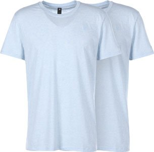 G-Star Base heather R 2-Pack T-Shirt Blau Meliert