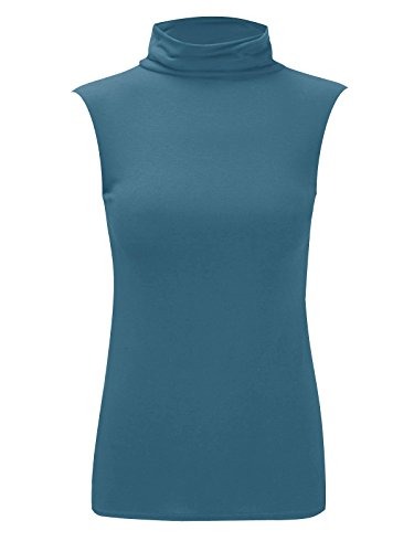 Fashion Lovers -  Polo  - Basic - Donna Teal