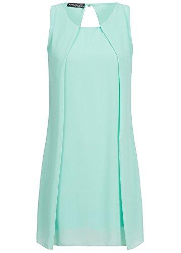 Violet fashion -  vestito - astuccio - donna mint grün m