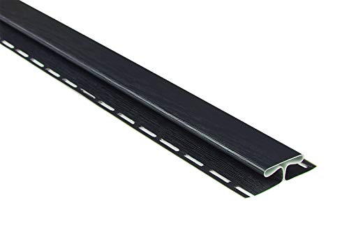 Verbinderprofile für Kunststoffpaneele | anthrazit | Verkleidung | umweltresistent | PVC | außen | Dachkasten | Soffit | Zubehör | 200 x 8,2 cm