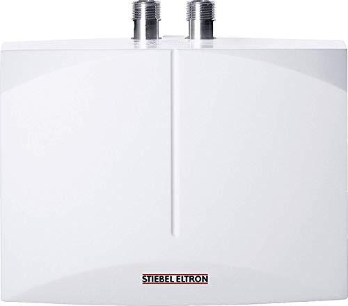 STIEBEL ELTRON elektronisch geregelter Mini-Durchlauferhitzer DEM 3, 3,5 kW, Handwaschbecken, gradgenaue Wunschtemperatur, druck-/drucklos, 231001