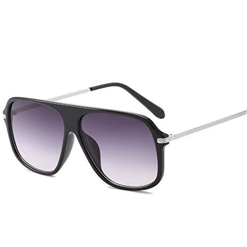Liuao Übergroße Sonnenbrille Männer Frauen Mode Große Quadratische Sonnenbrille 2019 Markendesigner UV400 Sunglass Shades Eyewear,Style 5