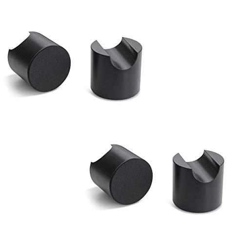 bFly-audio Tower-Set Kabel Absorber/Dämpfer aus POM (4er-Set, Schwarz) -