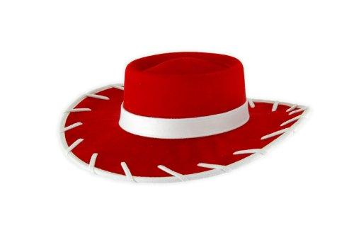 Morris Costumes Toy Story Jessie roter Cowboy Kostüm Hut für Kinder Standard (Woody Und Jessie Toy Story Kostüme)