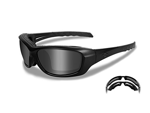 Harley-Davidson Wiley X Gravity Smoke Grey Motorrad Brille