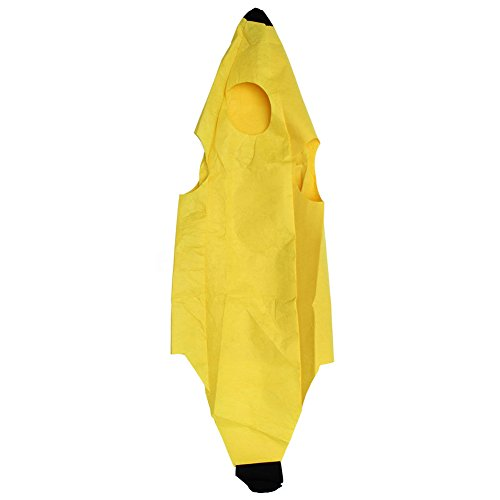 ty Kids Kinder Unisex Banana Fruit Halloween Party Fancy Kleid Kostüm Outfit, Einfarbig, Einheitsgröße ()