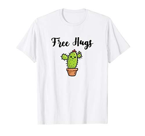 Free Hugs Umarmungen Kaktus T-Shirt Everyday Wear geschenk