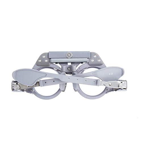 hifuture Optischer Trial Rahmen Optisches Objektiv verstellbar PD 25-40mm großen Qualität Professional Optometrie Titanium Optische Trial Linse Rahmen Optiker Equipment
