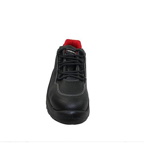 Impact kishka chaussures de sécurité norme s3 sRC chaussures berufsschuhe businessschuhe plat noir Schwarz
