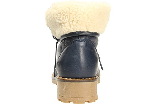 Palpa Trading  B-923t-2, Bottes à lacets femme Bleu