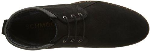 Schmoove Analog New Desert, Chaussures Lacées Homme Noir (Black/D Grey 15)
