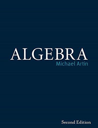Algebra (Classic Version) (Pearson Modern Classics) por Michael Artin