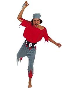 César - Disfraz de pirata para hombre, talla 48 (E956-001)