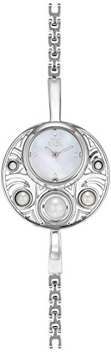 Titan Raga Pearl Analog Mother of Pearl Dial Women's Watch - 9972SM01
