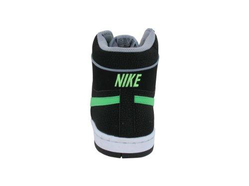 Sky Team '87 Mid-Basketball-Schuhe 9,5 Us (schwarz / PSN-Grün / STDM Gry / wei�) BLACK/PSN GREEN/STDM GRY/WHITE