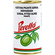 Perelló Spanish Gordal Pitted Green Olives, 150 g
