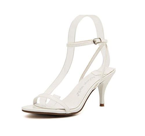 c1b9fefa6caca9 ... WZG Weibliche Shixia Schuhe coole Schuhe feinen Damen Temperament mit  einem Wort Art Gurt hochhackigen Sandalen