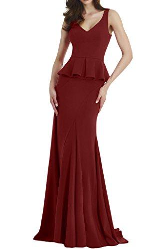 TOSKANA BRAUT - Robe - Femme rouge bordeaux