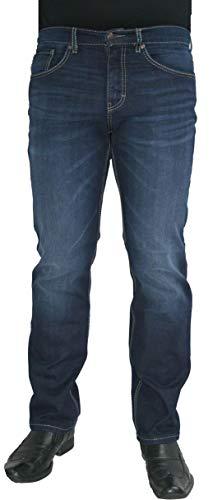 Paddocks Super Stretch Jeans Carter Saddle Stitch auch extra lang dark blue, Weite/Länge:42W/38L Carter Jeans