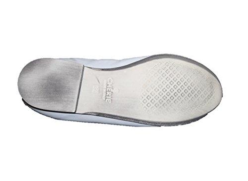 Cherie Kinder Schuhe Mädchen Ballerinas 7681 (ohne Karton) Weiß