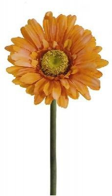24er Pack Gerbera 58cm, orange ,Kunstblume / Kunstpflanze