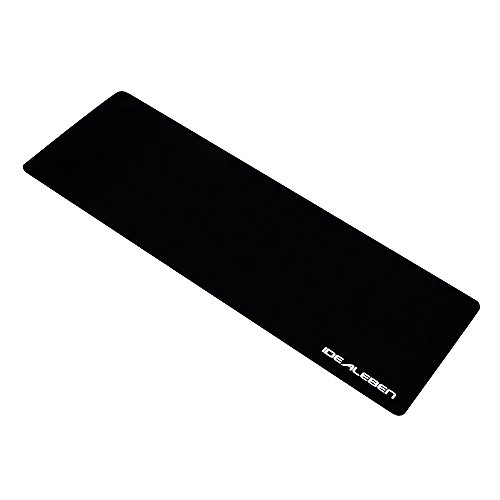 IDEALEBEN XXL Gaming Mauspad Maus Mat Anti-Rutsch-Gummi-Basis Mauspad Maßen: 900x450x3mm Gilt für: Tastatur, Spiele, Büro -