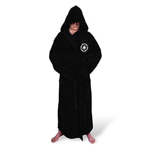 Star Wars Sith Imperium Deluxe Bademantel eingesticktes Logo Sith Robe (Sith Wars Der Star)