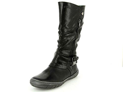 Romagnoli 3764-001 Mädchen Stiefel in Mittel Schwarz
