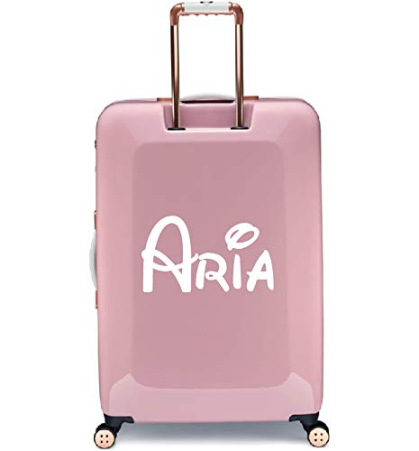 Personalised Cute Font Name Kids Suitcase Luggage Sticker Transfer 2