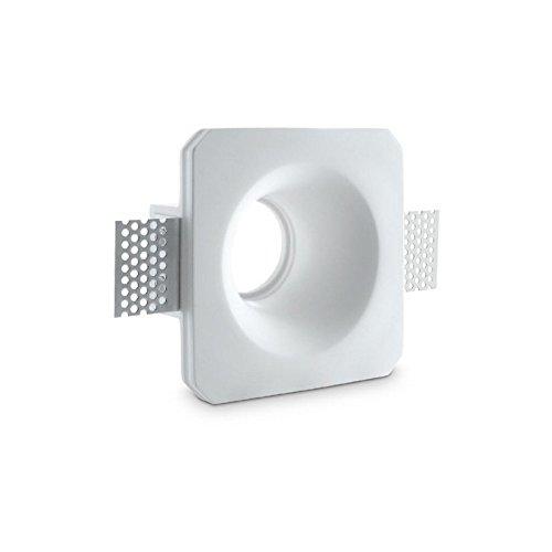 porta-faretto-da-incasso-in-gesso-verniciabile-mod-csf060-a-scomparsa-per-faretti-con-anello-blocca-