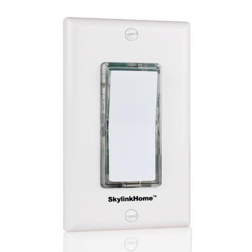 skylinkhome tb-318kabellos Kleben oder Wand montiert batteriebetrieben überall Wandleuchte Schalter Fernbedienung Transmitter (Beleuchtung Lutron)