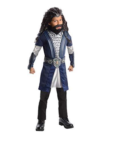Thorin Kostüm Eichenschild - Horror-Shop Thorin Eichenschild Kostüm für Kinder L