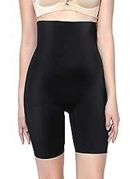 MOVWIN Culotte Gainante Femme Gaine Amincissante Ventre Plat Culotte Sculptante Taille Haute Invisible Panty Gainant Grande Taille