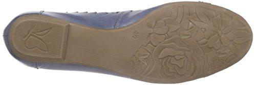 Caprice 22118 Damen Geschlossene Ballerinas Blau (BLUE COMB 809)