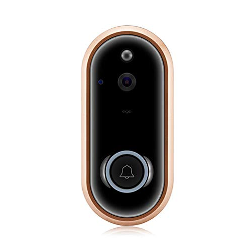 ZYLFN Wireless Camera Video Doorbell, HD 1080P WiFi Smart Home Security Doorbell Real-Time Video und Two-Way Audio Night Vision für iOS Android Google - Remote Google