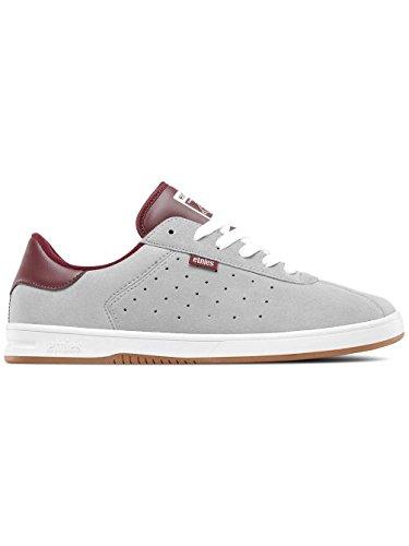 Etnies the Scam, Chaussures de Skateboard Homme, Navy White Gum Gris (Grey/burgundy)