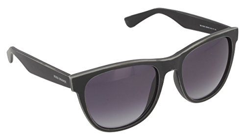 BOSS Orange Unisex-Erwachsene BO 0198/S HD 9DR Sonnenbrille, Schwarz (Black Dk Grey Sf), 54