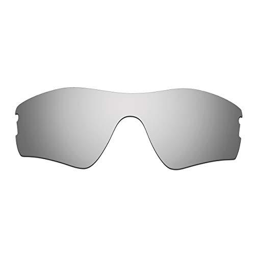 HKUCO Verstärken Ersatz-Brillengläser für Oakley Radar Pitch Sonnenbrille Titan Mirror Polarisiert
