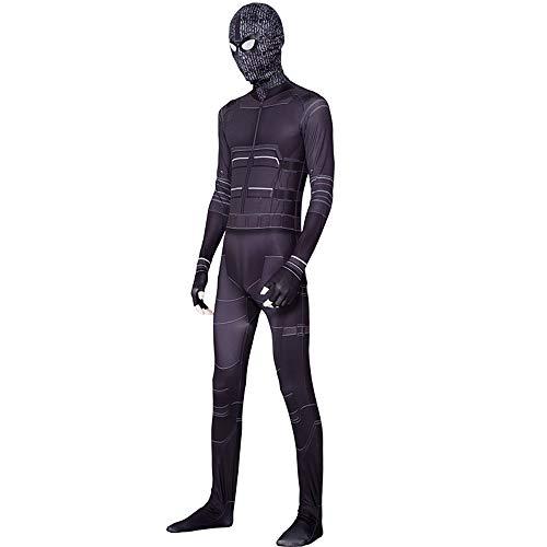 Halloween Kostüm Film Shadow Spider Battlesuit Tights Spielen Kostüm,Childs (Spider Mann Shirt Kostüm)