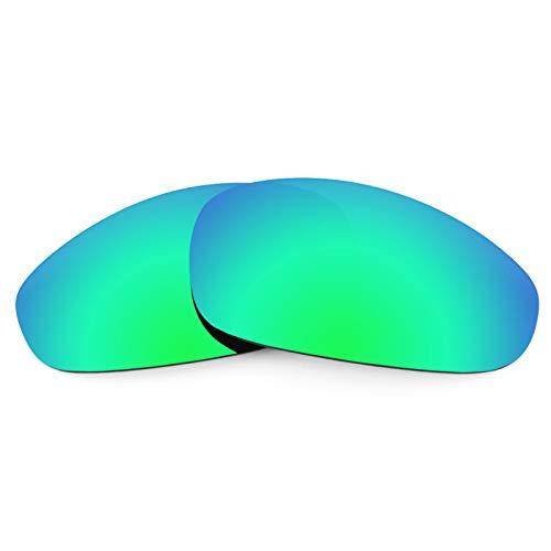 Revant Ersatzlinsen für Oakley Juliet Polarisierung Elite Rogue Grün MirrorShield®