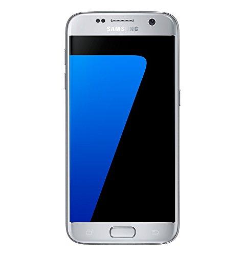 Foto Samsung Galaxy S7 Smartphone, Argento, 32 GB Espandibili [Versione Italiana]